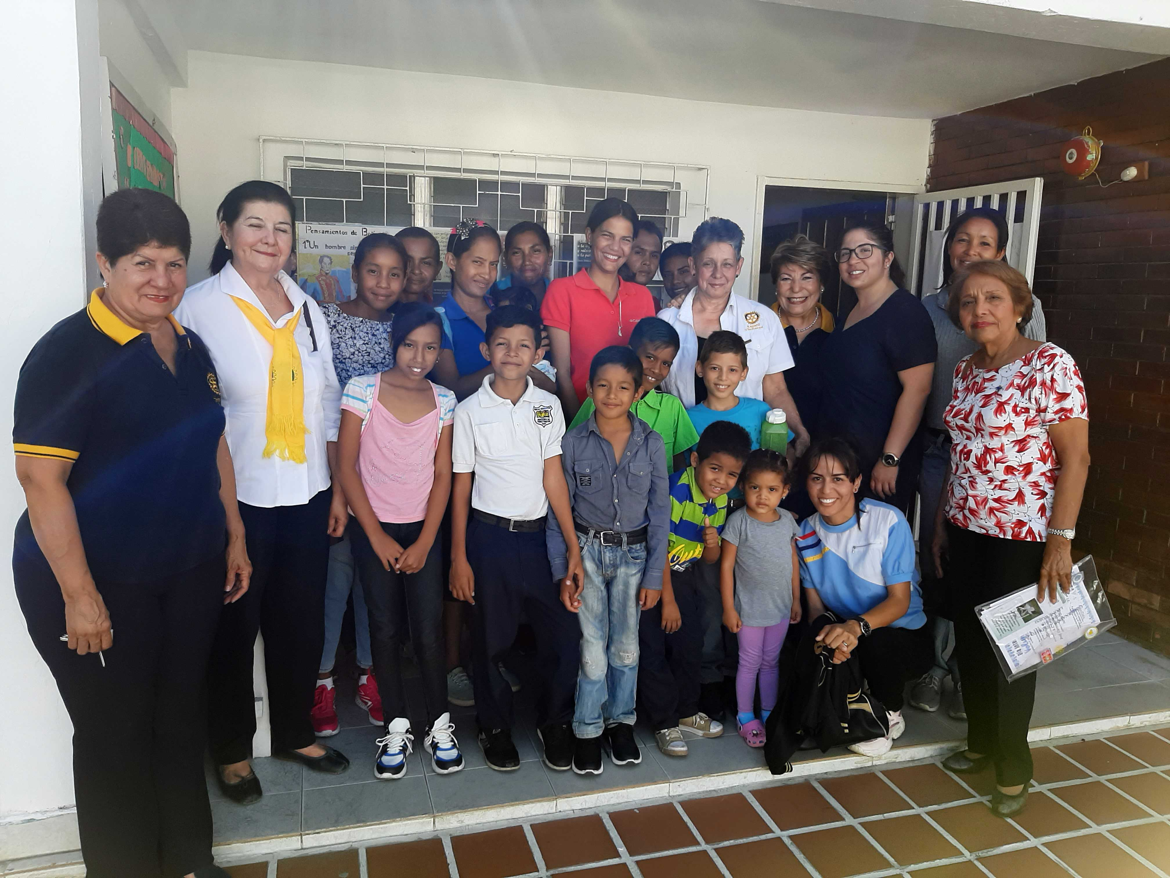 "First quarter of the ""Infinite Children"" Program of the DAPIN Foundation"